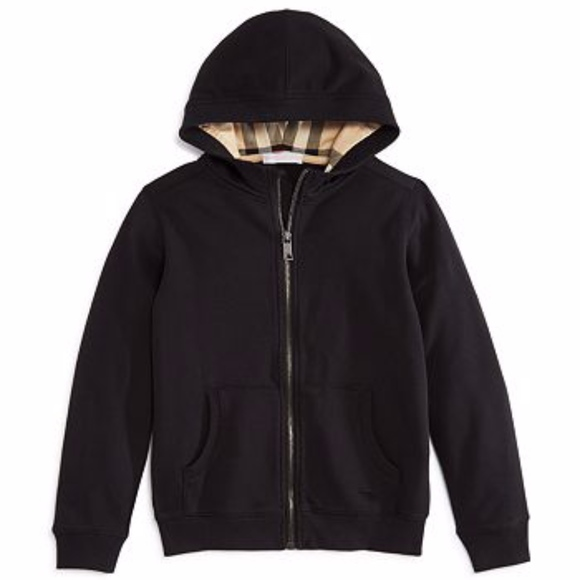 Burberry Kids Other - Kids Burberry Hooded Cotton Top